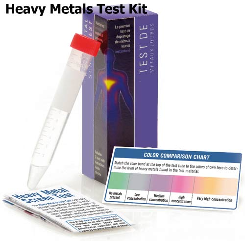 Heavy Metals Test Kit