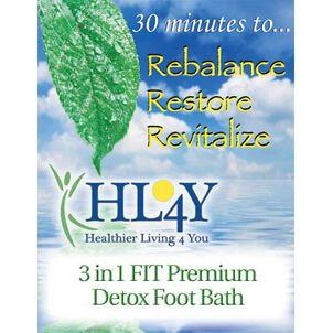 3-in-1 Detox Foot Spa Brochure, Large