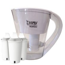 *NEW* AlkaPitcher – Alkaline Water Filter Pitcher (3 Filters Included)