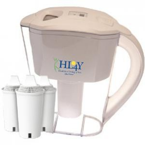 AlkaPitcher – Alkaline Water Pitcher (3 Filters Included)