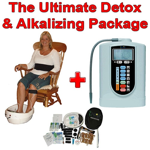 Ultimate Detox and Alkalizing Package