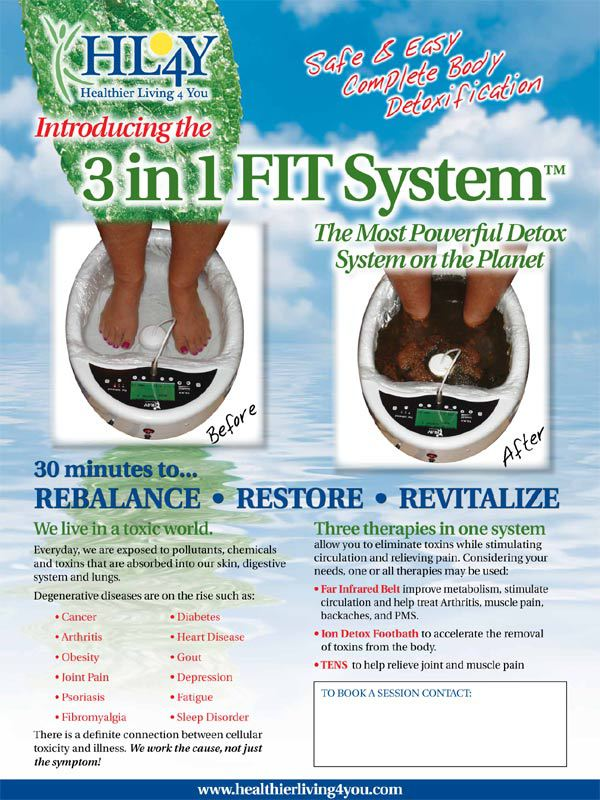 Ion Cleanse Foot Bath Color Chart What Does The Color Change In The