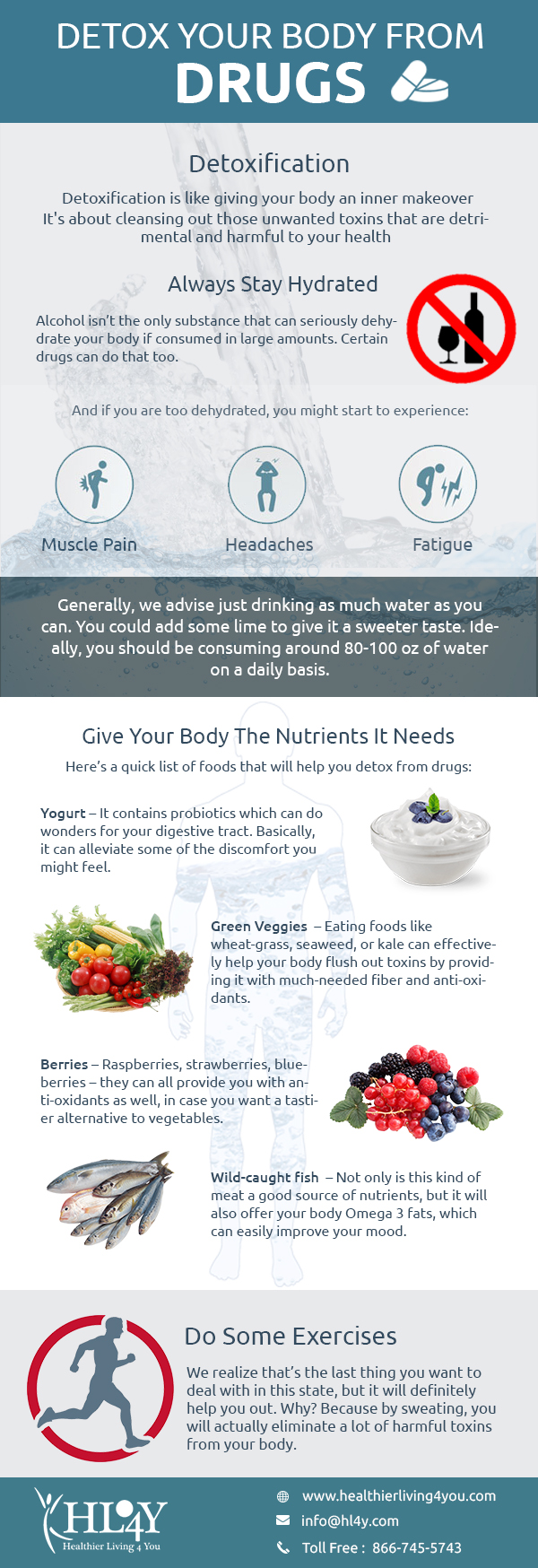 DETOX YOUR BODY FROM DRUGS