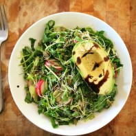 Recipe: A Simple pH-Balancing Alkaline Salad
